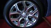 Mitsubishi Outlander PHEV wheel at the 2014 Colombo Motor Show Sri Lanka