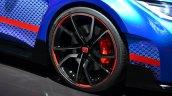New Honda Civic Type R Concept II wheel at the 2014 Paris Motor Show
