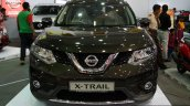 New Nissan X-Trail front at the 2014 Colombo Motor Show Sri Lanka
