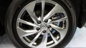 New Nissan X-Trail wheel at the 2014 Colombo Motor Show Sri Lanka