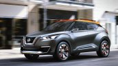 Nissan Kicks Concept front quarter Press shot