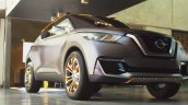 Nissan Kicks concept front three quarters