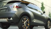 Nissan Kicks concept rear three quarters right