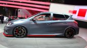 Nissan Pulsar NISMO Concept side at the 2014 Paris Motor Show