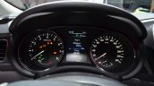 Nissan Pulsar instrument cluster at the 2014 Paris Motor Show