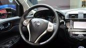 Nissan Pulsar steering wheel at the 2014 Paris Motor Show
