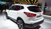 Nissan Qashqai SV1 rear three quarters at the 2014 Paris Motor Show