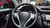 Nissan Qashqai SV1 steering wheel at the 2014 Paris Motor Show