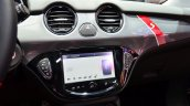 Opel Adam S centre console at the 2014 Paris Motor Show