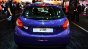 Peugeot 208 Like Edition rear at the 2014 Paris Motor Show
