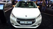 Peugeot 208 Roland Garros Edition front at the 2014 Paris Motor Show
