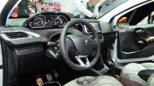 Peugeot 208 Roland Garros Edition interior at the 2014 Paris Motor Show