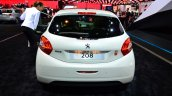Peugeot 208 Roland Garros Edition rear at the 2014 Paris Motor Show