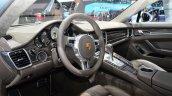 Porsche Panamera S E-Hybrid dashboard at the 2014 Paris Motor Show