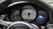 Porsche Panamera S E-Hybrid instrument console at the 2014 Paris Motor Show