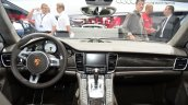 Porsche Panamera S E-Hybrid interior at the 2014 Paris Motor Show