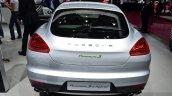 Porsche Panamera S E-Hybrid rear at the 2014 Paris Motor Show