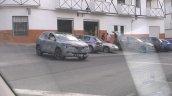 Renault C-Segment SUV front quarter spied