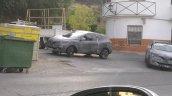 Renault C-Segment SUV front spied