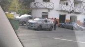 Renault C-Segment SUV side spied