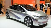 Renault EOLAB concept front right three quarter at the 2014 Paris Motor Show