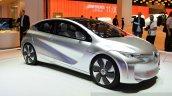 Renault EOLAB concept front three quarter at the 2014 Paris Motor Show