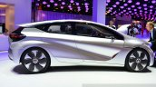 Renault EOLAB concept side at the 2014 Paris Motor Show