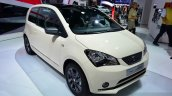 SEAT Mii by MANGO front three quarters at the 2014 Paris Motor Show