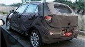 Spied Hyundai Elite i20 Cross rear quarter