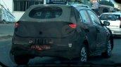 Spied Hyundai Elite i20 Cross rear quarters