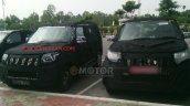 Spied Mahindra U301 front fascia