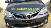 Spied Toyota Etios Liva facelift front