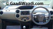Spied Toyota Etios Liva facelift interior