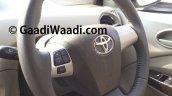 Spied Toyota Etios Liva facelift steering