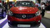 Ssangyong Korando front at the 2014 Colombo Motor Show Sri Lanka