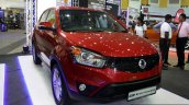 Ssangyong Korando front three quarter at the 2014 Colombo Motor Show Sri Lanka