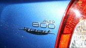 Suzuki Alto 800 Sport Edition badge at the 2014 Colombo Motor Show Sri Lanka