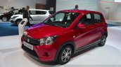 Suzuki Celerio front three quarters at the 2014 Paris Motor Show