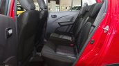 Suzuki Celerio rear seat at the 2014 Paris Motor Show