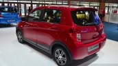 Suzuki Celerio rear three quarters at the 2014 Paris Motor Show