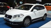 Suzuki SX4 S-Cross front three quarters at the 2014 Paris Motor Show