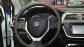 Suzuki SX4 S-Cross steering wheel at the 2014 Paris Motor Show