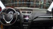 Suzuki Swift Facelift three-door dashboard at the 2014 Paris Motor Show