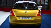 Suzuki Swift Facelift three-door rear at the 2014 Paris Motor Show