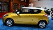 Suzuki Swift Facelift three-door side view at the 2014 Paris Motor Show