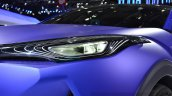 Toyota C-HR Concept headlamp at the 2014 Paris Motor Show