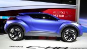 Toyota C-HR Concept side at the 2014 Paris Motor Show