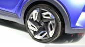 Toyota C-HR Concept wheel at the 2014 Paris Motor Show