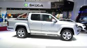 VW Amarok Ultimate side at the 2014 Paris Motor Show