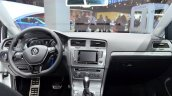 VW Golf Alltrack interior at the 2014 Paris Motor Show